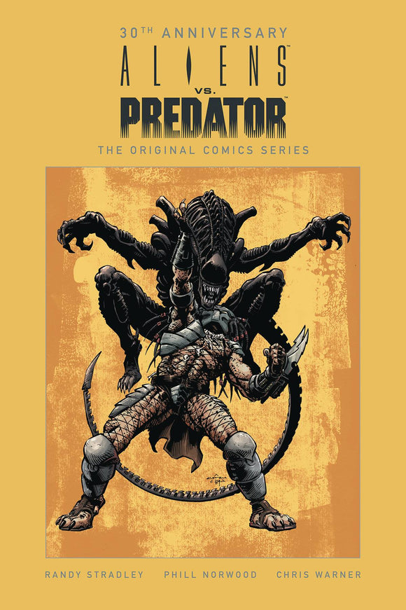 ALIENS VS PREDATOR 30TH ANNIV ORIGINAL COMIC SERIES HC