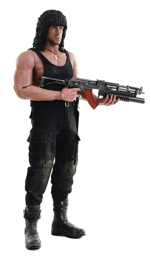 RAMBO III JOHN RAMBO 1/6 SCALE FIG