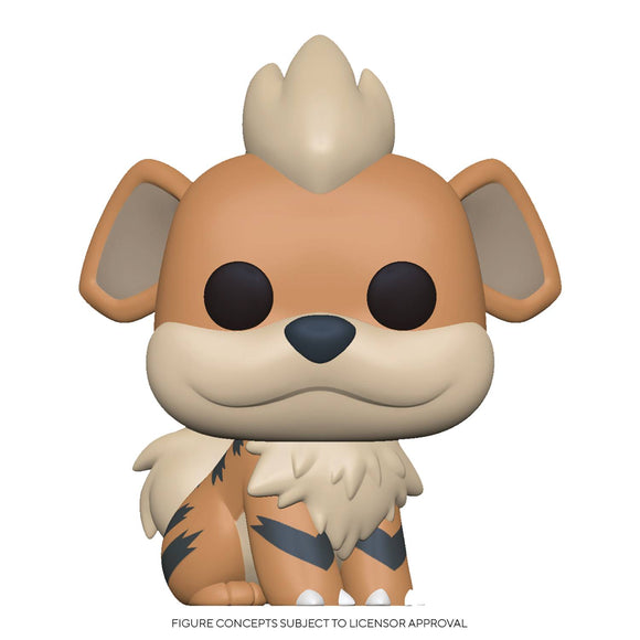 POP GAMES 597 POKEMON S3 GROWLITHE