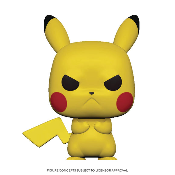 POP GAMES 598 POKEMON S3 GRUMPY PIKACHU