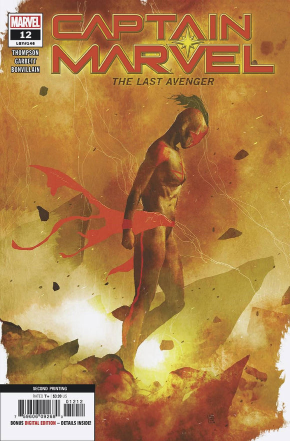 CAPTAIN MARVEL #12 2ND PTG SORRENTINO VAR (2019)