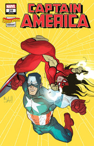 CAPTAIN AMERICA #20 CALDWELL SPIDER-WOMAN VAR (2018)