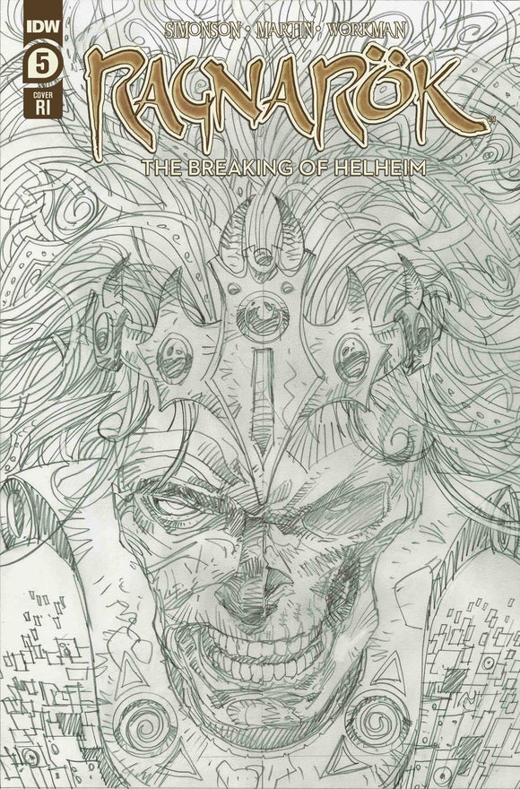 RAGNAROK BREAKING OF HELHEIM #5 (OF 6) 10 COPY INCV SIMONSON