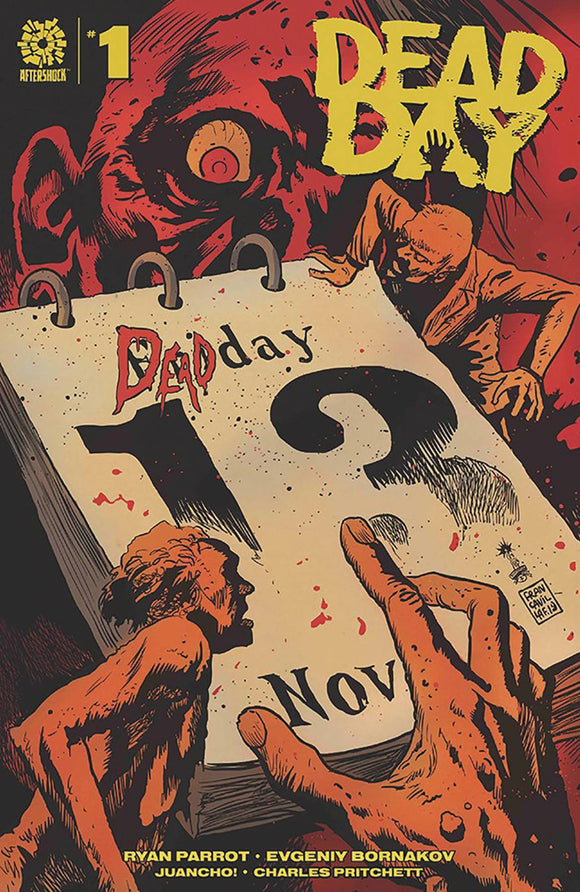 DEAD DAY #1 15 COPY FRANCAVILLA INCV