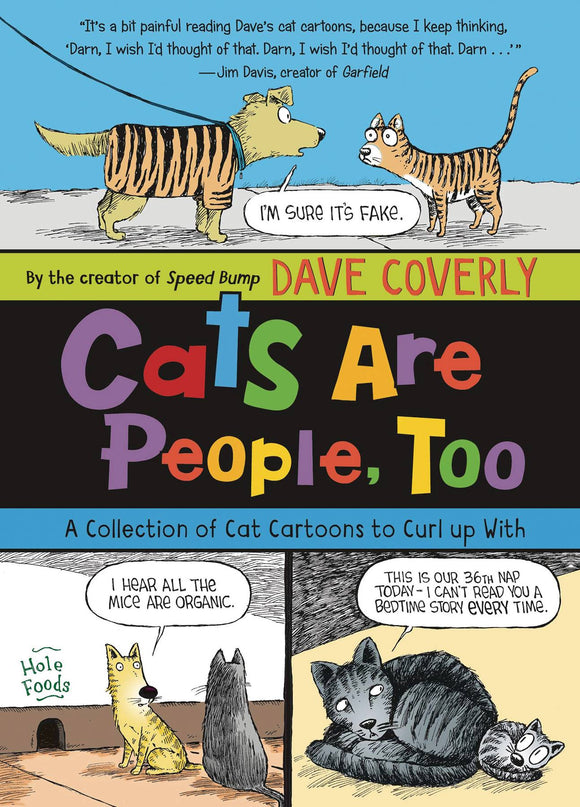 CATS ARE PEOPLE TOO COLL CAT CARTOONS SC