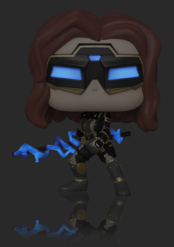 POP MARVEL 630 AVENGERS GAME BLACK WIDOW STARK TECH SUIT CHASE VARIANT