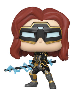 POP MARVEL 630 AVENGERS GAME BLACK WIDOW STARK TECH SUIT