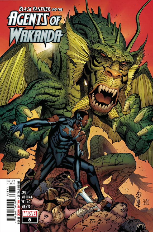 BLACK PANTHER AND AGENTS OF WAKANDA #8