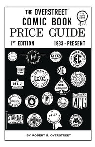 OVERSTREET COMIC BOOK PRICE GUIDE #1 FACSIMILE ED SC