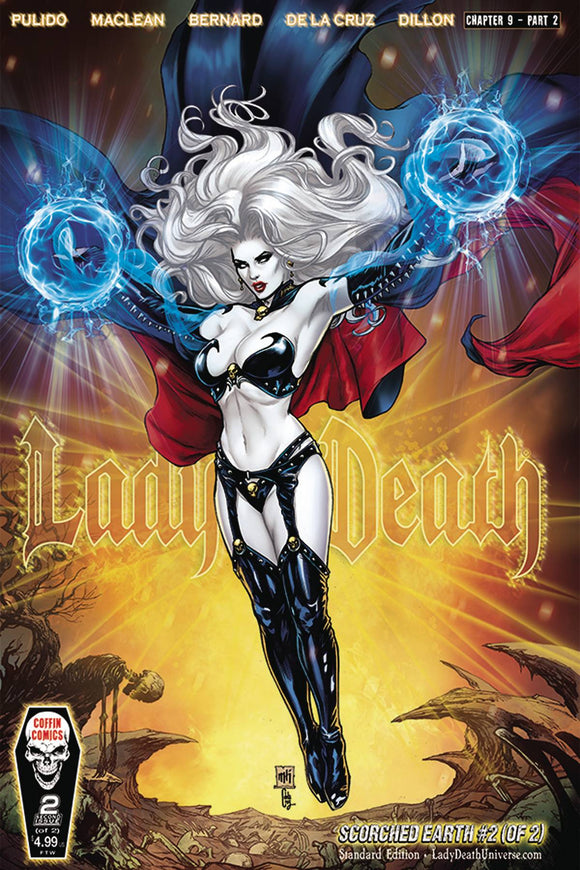 LADY DEATH SCORCHED EARTH #2 CVR A STANDARD (OF 2)