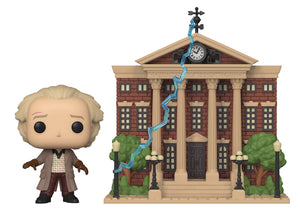 POP TOWN 15 BTTF DOC W/CLOCK TOWER