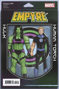 EMPYRE #2 (OF 6) CHRISTOPHER 2 PACK ACTION FIGURE VAR