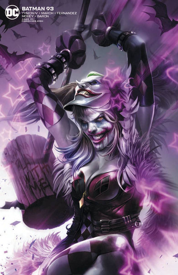 BATMAN #93 CARD STOCK FRANCESCO MATTINA VAR ED