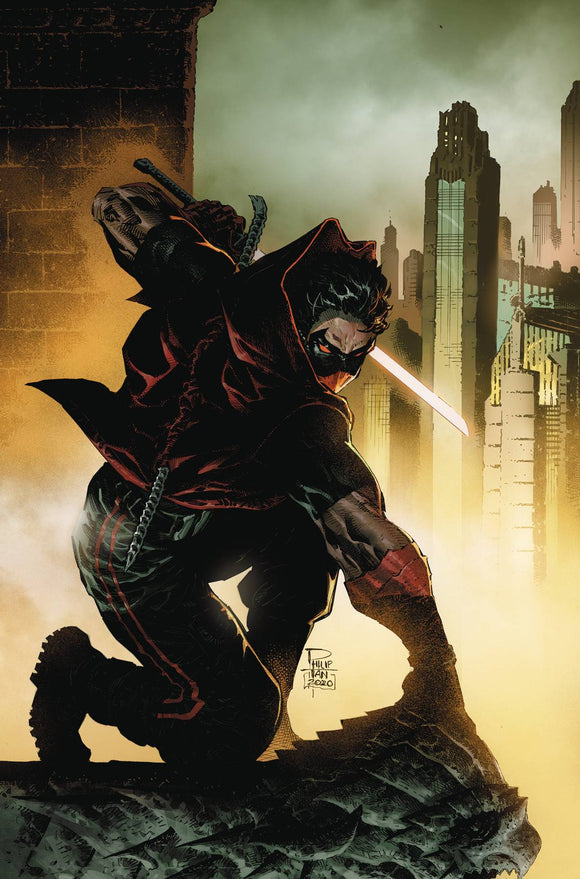 RED HOOD OUTLAW #45 PHILIP TAN VAR ED (2016)