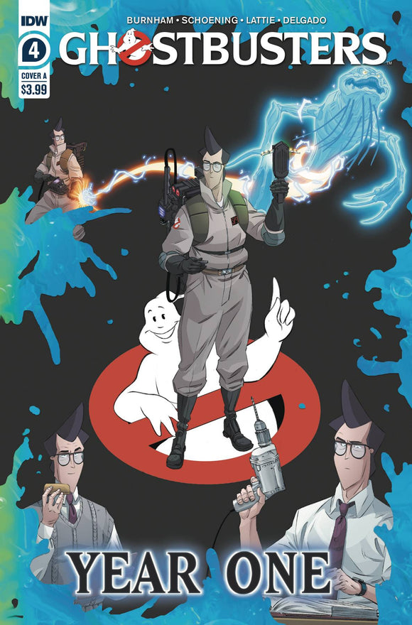 GHOSTBUSTERS YEAR ONE #4 (OF 4) CVR A SHOENING