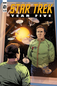 STAR TREK YEAR FIVE #13 CVR A THOMPSON