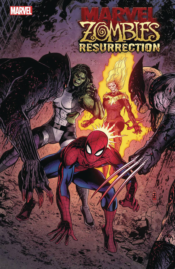 MARVEL ZOMBIES RESURRECTION #1 (OF 4) ZIRCHER VAR