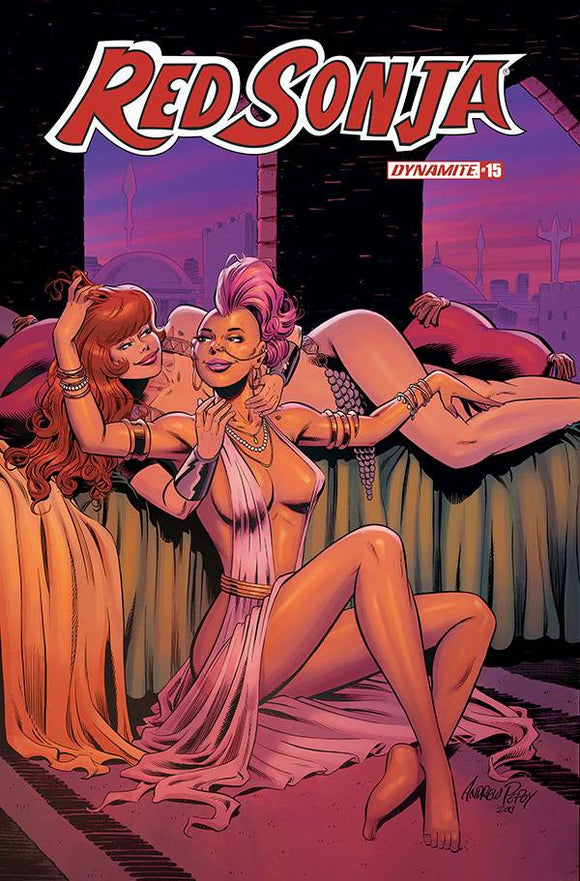 RED SONJA #15 10 COPY PEPOY SEDUCTION INCV