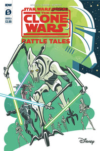 STAR WARS ADVENTURES CLONE WARS #5 (OF 5)