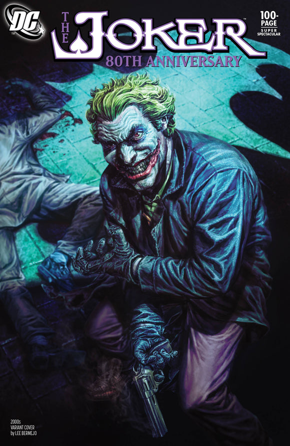 JOKER 80TH ANNIV 100 PAGE SUPER SPECT #1 2000S LEE BERMEJO VAR ED
