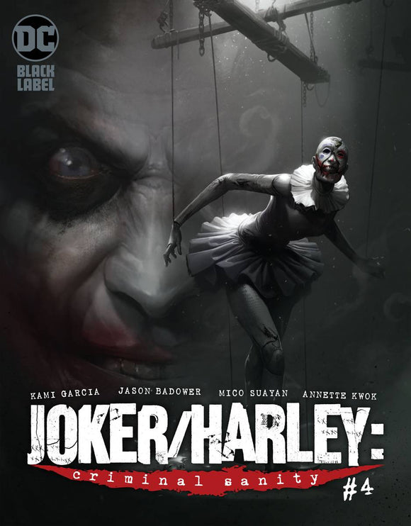 JOKER HARLEY CRIMINAL SANITY #4 (OF 9) MIKE MAYHEW VAR ED (MR)