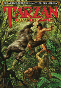 ERB AUTHORIZED LIBRARY TARZAN HC VOL 01 TARZAN OF THE APES
