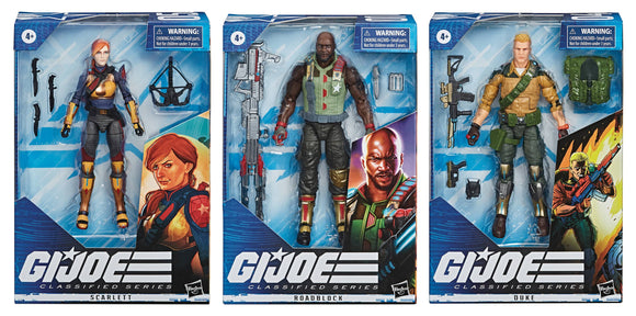 GI JOE CLASSIFIED 6IN AF DUKE