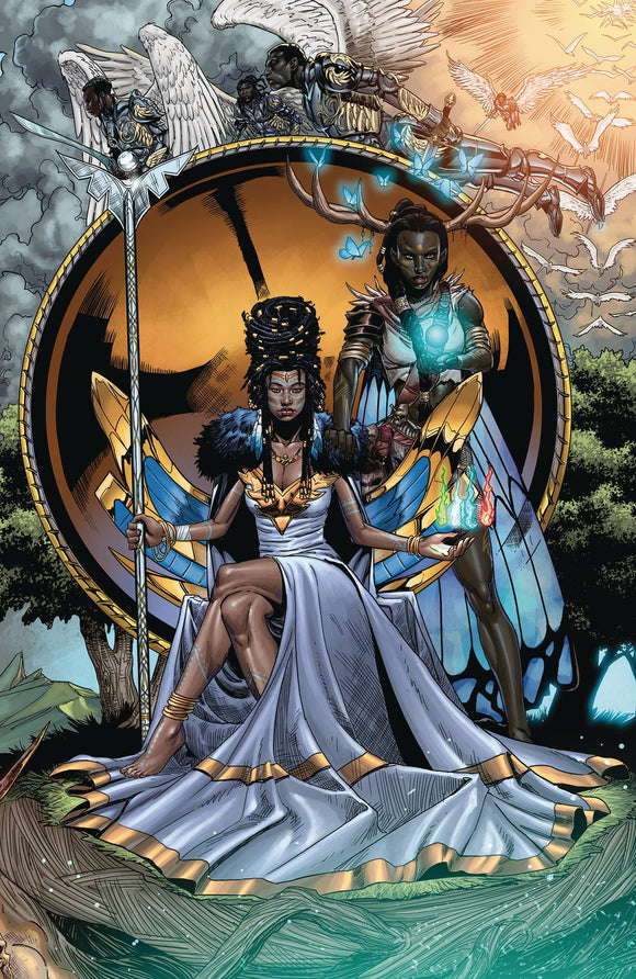 NIOBE SHE IS DEATH #4 CVR A MITCHELL
