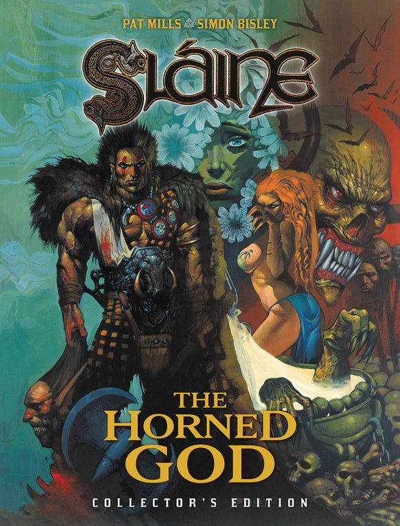 SLAINE HORNED GOD COLL ED TP