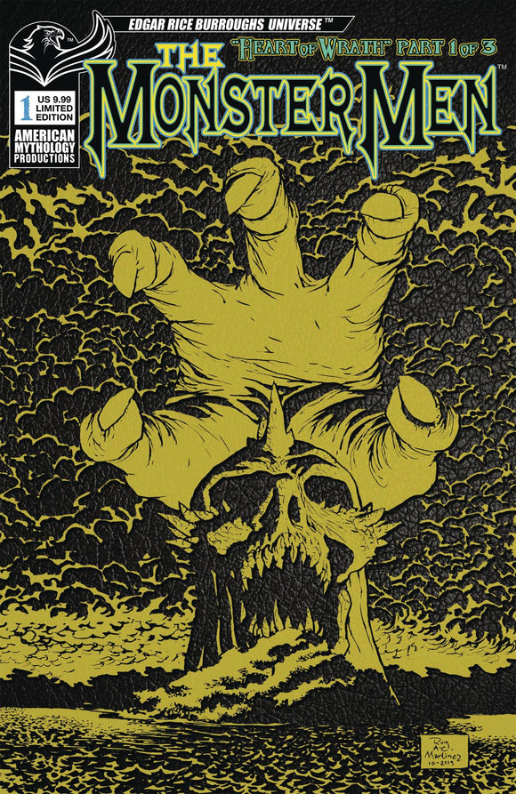 MONSTER MEN #1 CVR C LTD ED