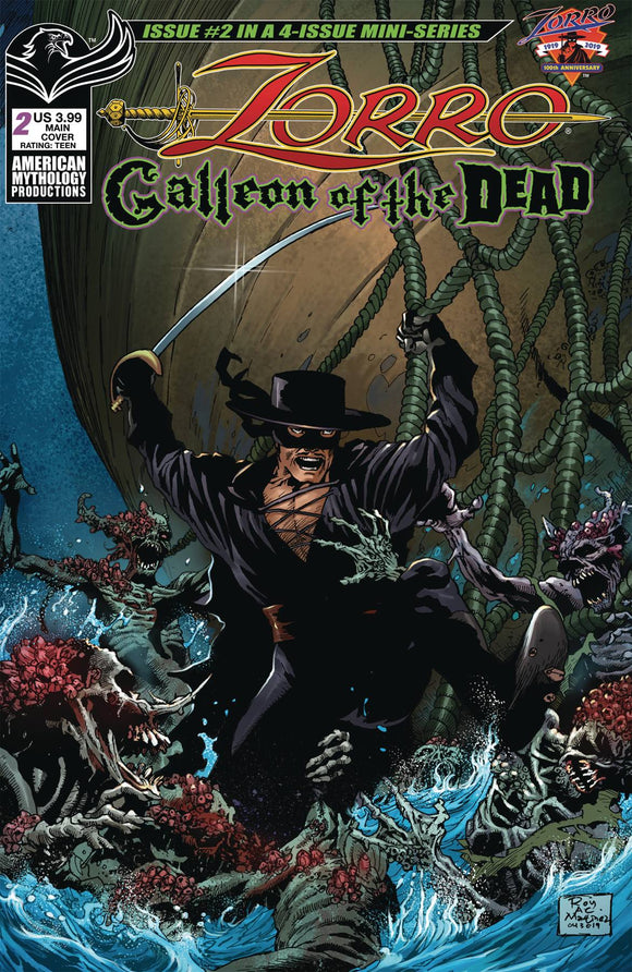ZORRO GALLEON OF DEAD #2 CVR A MARTINEZ