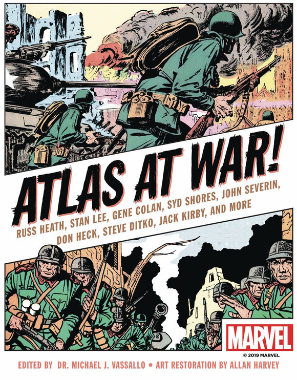 ATLAS AT WAR HC GN