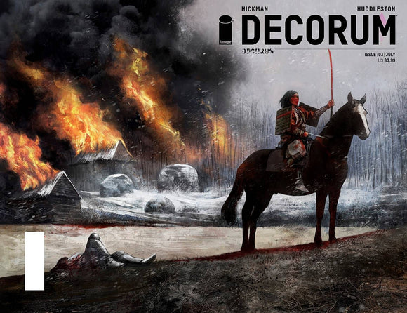 DECORUM #3 CVR B HUDDLESTON
