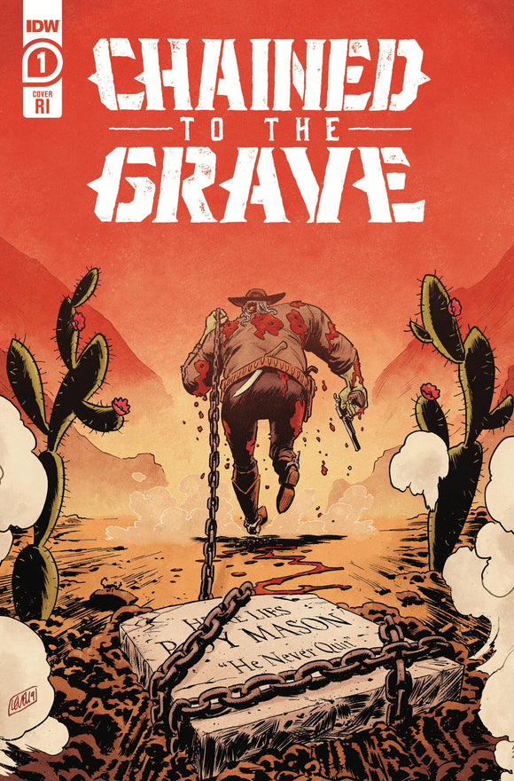 CHAINED TO THE GRAVE #1 (OF 5) 10 COPY INCV BRIAN LEVEL