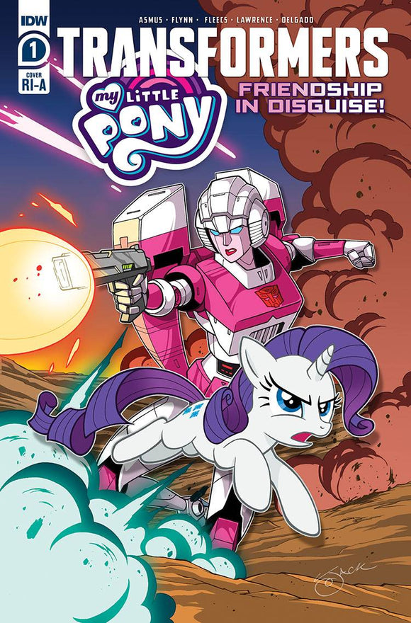 MY LITTLE PONY TRANSFORMERS #1 (OF 4) 10 COPY INCV