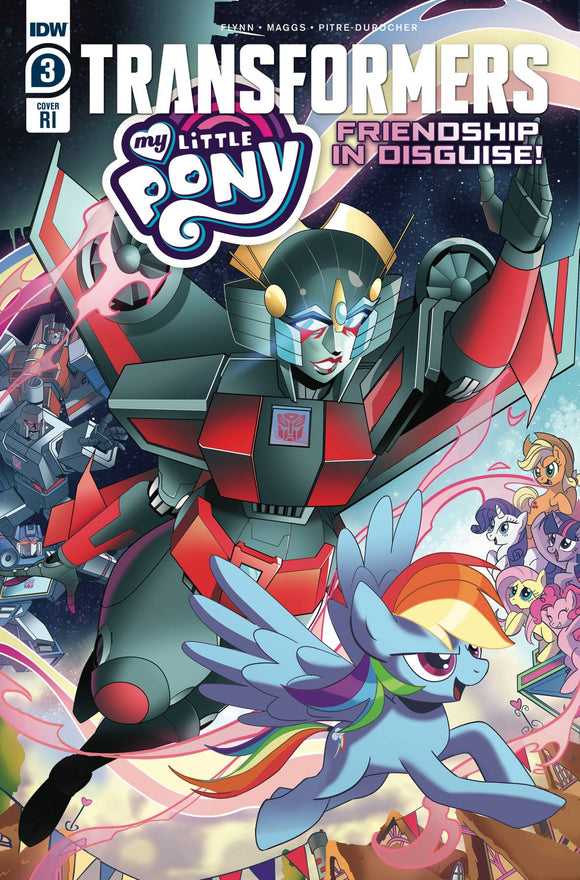 MY LITTLE PONY TRANSFORMERS #3 (OF 4) 10 COPY INCV TRAMONTANO