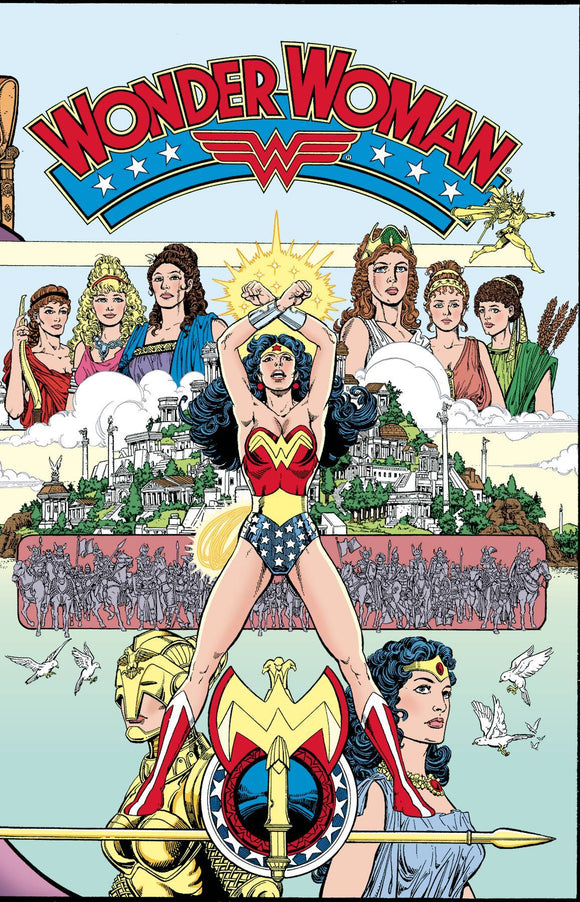 WONDER WOMAN #1 FACSIMILE EDITION 1987