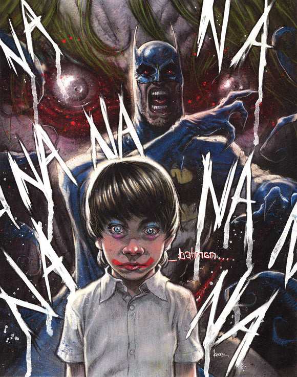 BATMAN THE SMILE KILLER #1 KAARE ANDREWS VAR ED