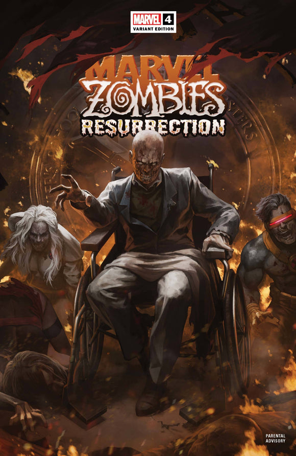 MARVEL ZOMBIES RESURRECTION #4 (OF 4) SKAN VAR