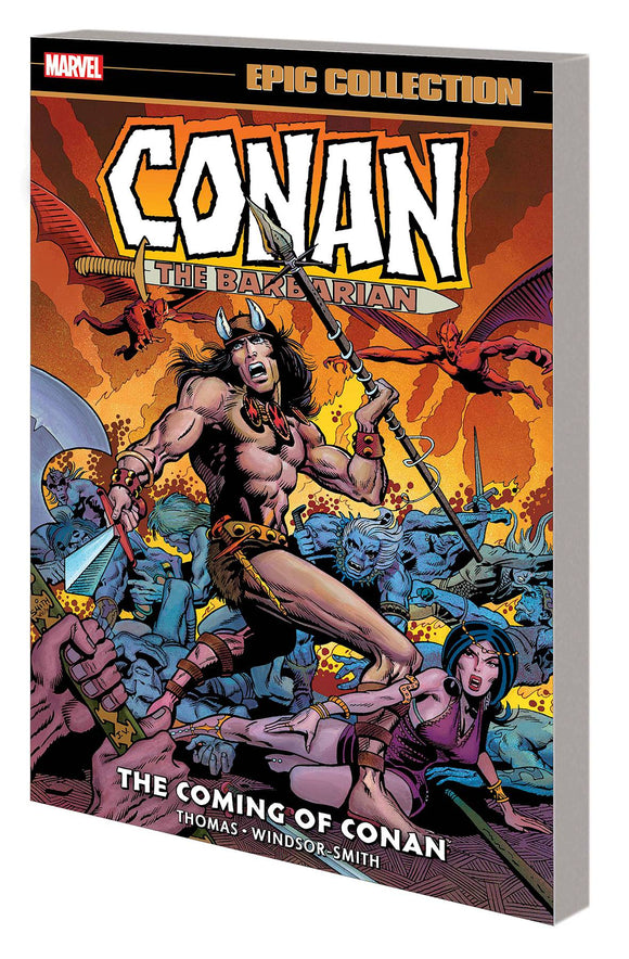 CONAN BARBARIAN ORIG MARVEL YRS EPIC COLL TP COMING OF