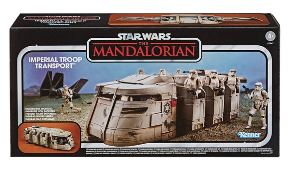 STAR WARS MANDALORIAN VINTAGE 3-3/4IN SCALE TROOP TRANSPORT
