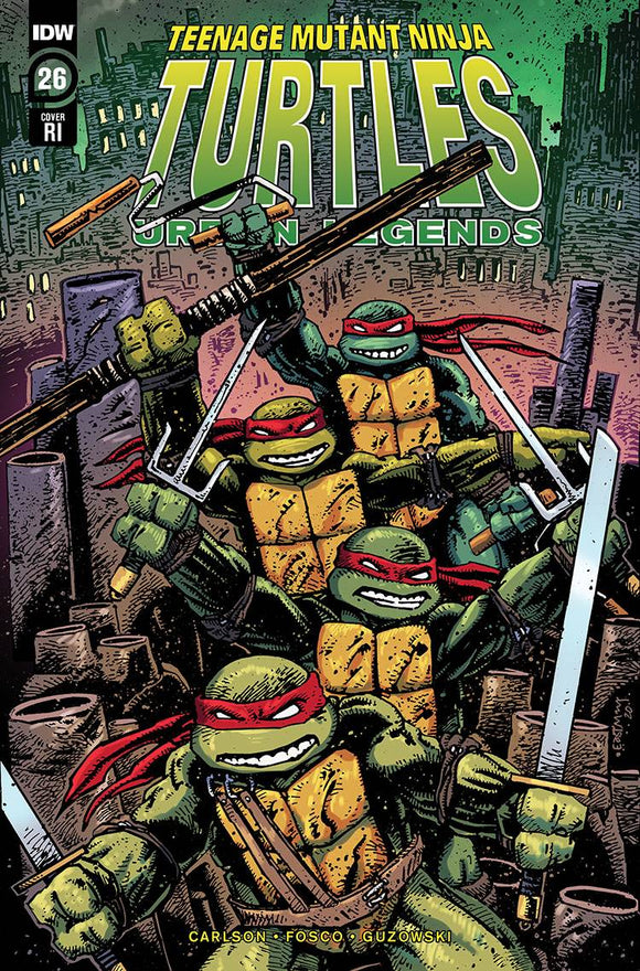 TMNT URBAN LEGENDS #26 10 COPY INCV EASTMAN
