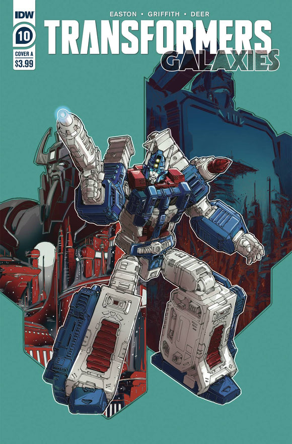 TRANSFORMERS GALAXIES #10 CVR A GRIFFITH
