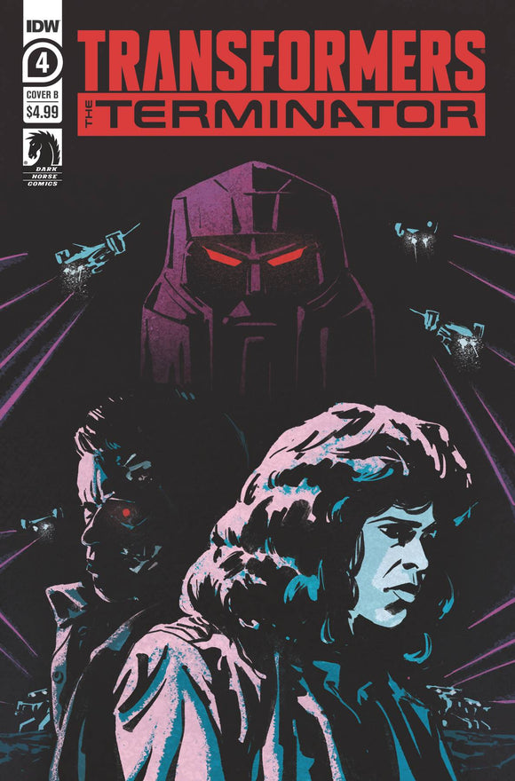 TRANSFORMERS VS TERMINATOR #4 (OF 4) CVR A FULLERTON