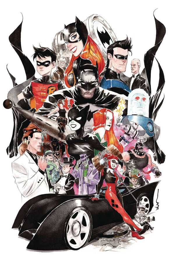 BATMAN THE ADVENTURES CONTINUE #2 (OF 6) DUSTIN NGUYEN VAR ED