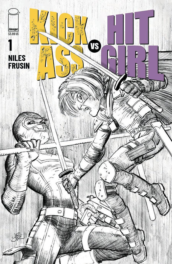KICK-ASS VS HIT-GIRL #1 (OF 5) CVR B ROMITA JR
