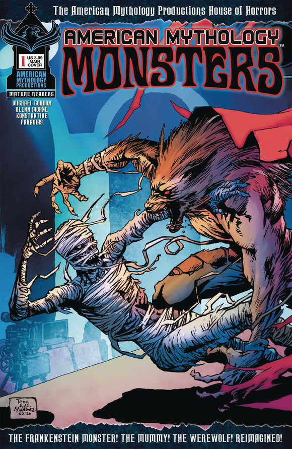 AMERICAN MYTHOLOGY MONSTERS #1 CVR A MARTINEZ
