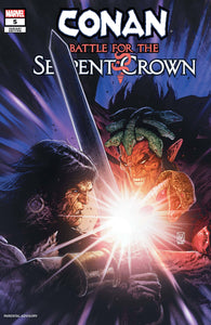 CONAN BATTLE FOR SERPENT CROWN #5 (OF 5) GIANGIORDANO VAR