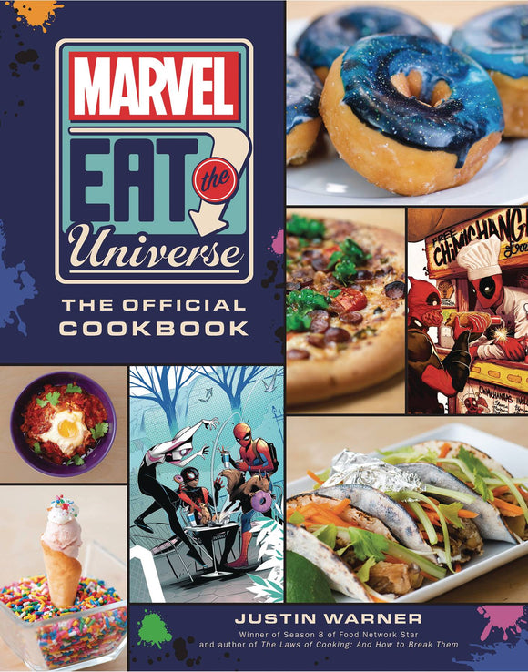 MARVEL EAT THE UNIVERSE OFFICIAL COOKBOOK HC
