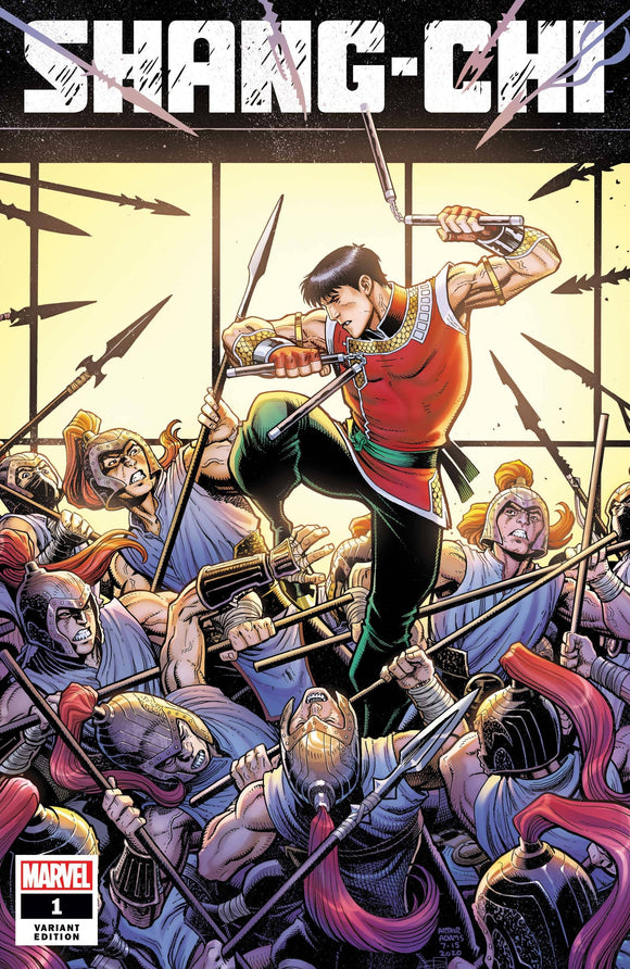 SHANG-CHI #1 (OF 5) ART ADAMS VAR